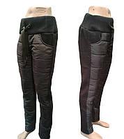 Зимние дутые штаны женские.