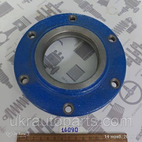 Крышка подшипника опоры вала карданного МАЗ 5336 (GO) (под войлок) Крышка подвесного (5336-2202081-10)