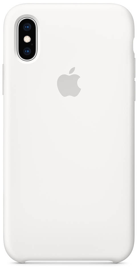 IPhone Xs Max Silicone Case White (MRWF2)