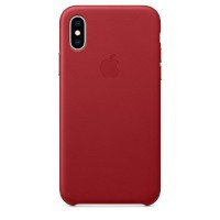 IPhone Xs Leather Case (PRODUCT)RED (MRWK2)