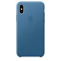 IPhone Xs Leather Case Cape Cod Blue (MTET2)
