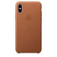 IPhone Xs Leather Case Saddle Brown (MRWP2)