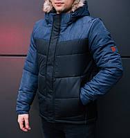 40ad4c97536 Стильная мужская зимняя куртка Pobedov