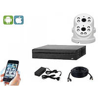 Комплект видеонаблюдения на 2 камеры UDC AHD-Kit1.2