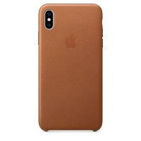 IPhone Xs Max Leather Case Saddle Brown (MRWV2)