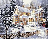 Картина по номерам Снежная пора (AS0379) 40 х 50 см ArtStory