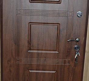 Уличные входные двери Квадро винорит замки Кале, фото 2