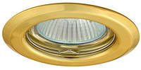 Точечный светильник Kanlux Argus CT-2114-G цвет золото