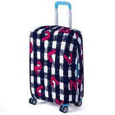 Чехол для чемодана Bonro маленький S черно-белый