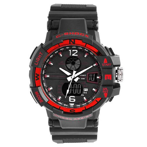 Часы наручные C-SHOCK GWA-1100 Black-Red, BOX