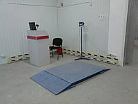 Весы наездные низкопрофильные 1.25х1.5 метра
