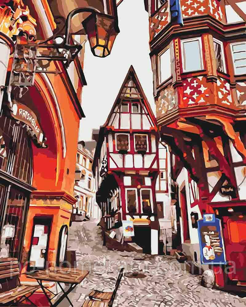 Рисование по номерам Баварская улочка (KHO3539) 40 х 50 см ...
