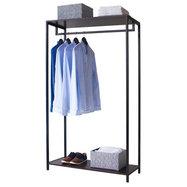 Напольная стойка для одежды «Квадро 7»