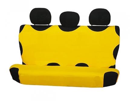 Чохол-майка Elegant на заднє сидіння жовта EL 105 237 новий дизайн
