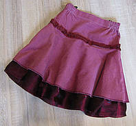 Распродажа! юбка вельветовая детская р.34-42, фото 1