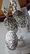 Серебряные серьги - круглые подвески, фото 3