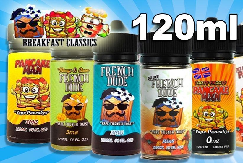 Жидкость для электронных сигарет Vape Breakfast Classics 120ml Original