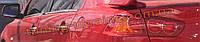 Хром накладки на стекло молдинг стекла стекольный молдинг для Mitsubishi Lancer 9 2003-2006 wagon
