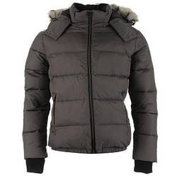 Зимняя мужская куртка пуховик Lee Cooper серая оригинал J0077/77
