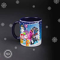 Чашка новорічна з фото 02