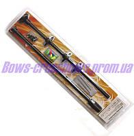 Духовая трубка алюминиевая 10 стрелок в комплекте 91 см