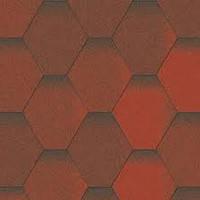 Битумная черепица Акваизол, Мозаика Огненная лава (красный+коричневый)