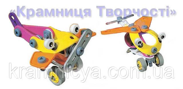 Конструктор гибкий Yang Guang 2555-9 (2 модели самолётов)