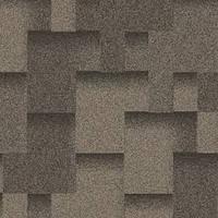 Битумная черепица Акваизол, Акцент Графит (серый+черный)