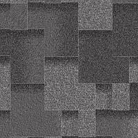 Битумная черепица Акваизол, Акцент Маренго (черный+черно-синий +темно-серый)