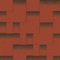 Битумная черепица Акваизол, Акцент Спелый гранат (красный+черный)