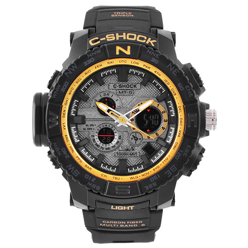 Часы наручные C-SHOCK MTG-S1000 Вlack-Gold