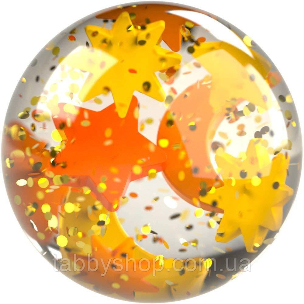 Мячик-попрыгунчик со звездочками HABA