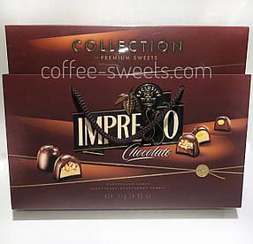"""Подарочный набор шоколадных конфет """"Impresso"""" коричневые 424гр."""