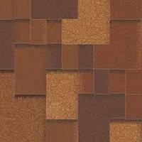 Битумная черепица Акваизол, Акцент Виски (коричневый+антик+красный+серый+черный)