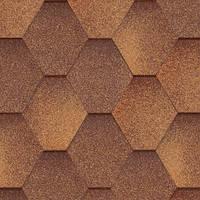 Битумная черепица Акваизол, Мозаика Осенний клен (антик+коричневый)