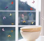 Набор декоративных 3D бабочек  (19х17см), фото 2
