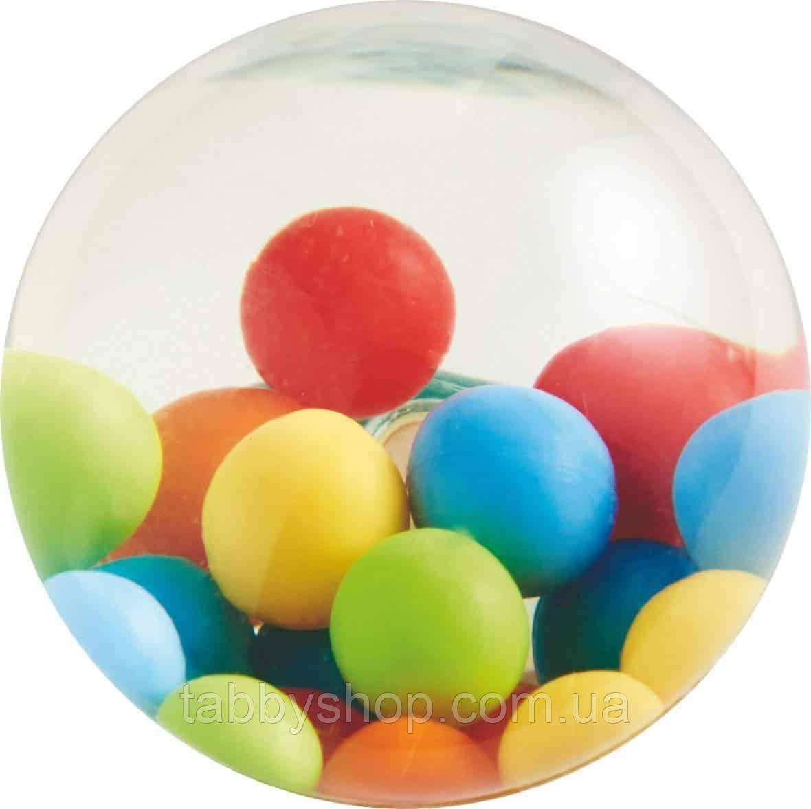 Мячик-попрыгунчик с шариками HABA