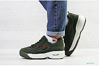 Кроссовки Fila 6869 зеленые