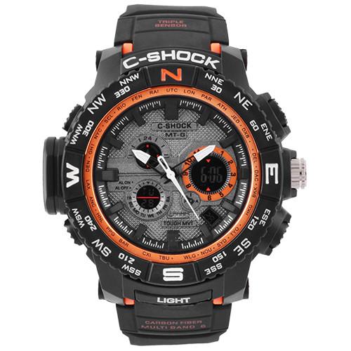Часы наручные C-SHOCK MTG-S1000 Вlack-Orange
