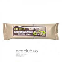 Батончик шоколадный спирулина, киви, фисташка Жива Кухня 25г