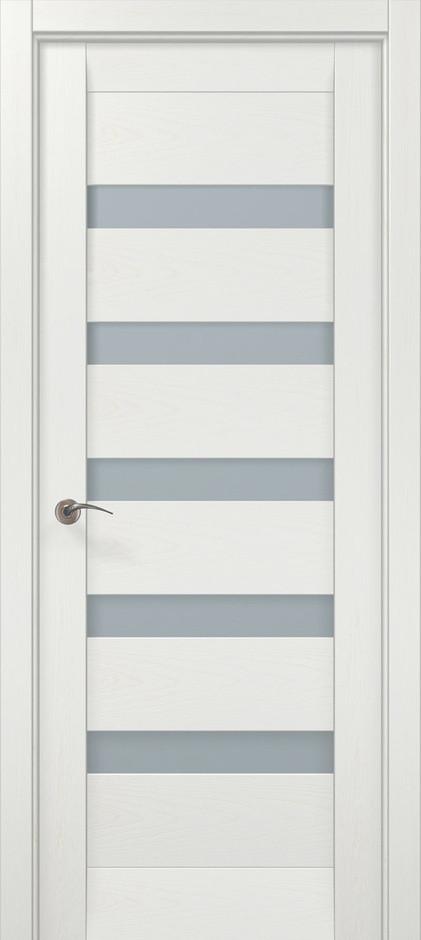 Двери межкомнатные Папа Карло ML-02 Ясень белый