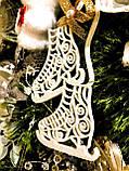 Коньки украшения на елку. Новогодние коньки из пластика, фото 3