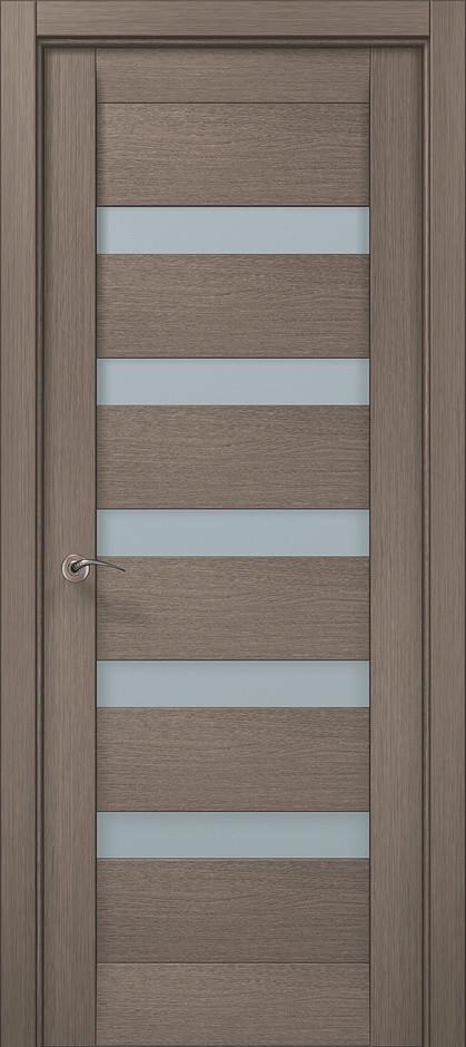 Двери межкомнатные Папа Карло ML-02 Дуб серый брашированный