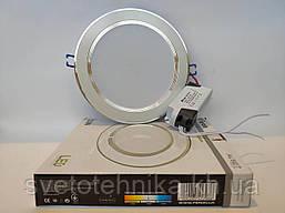 Светодиодный светильник встраиваемый светильник Feron AL527 7w серебро