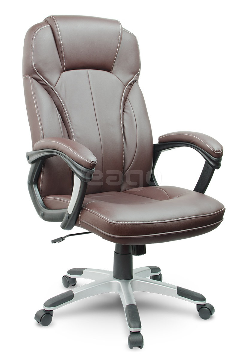 Коричневое офисное кресло компьютерное EAGO (Arizo)