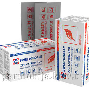 Экструдированный пенополистирол CARBON ECO 1180x580x100 мм (4шт), фото 2