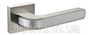 Дверная ручка Fuaro NEO DM матовый никель/хром