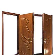Дверь входная ТМ МСМ Булава Волна Усиленная 860 (левое открывание)