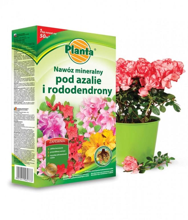 Удобрение Planta для Азалий и рододендронов в гранулах 1кг