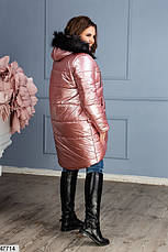 Новинка! женская зимняя куртка с капюшоном размеры:42-44,44-46, фото 3